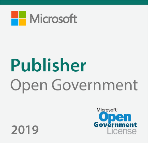 Microsoft Publisher 2019 Open Government