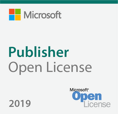 Microsoft Publisher 2019 Open License