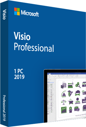 Microsoft Visio 2019 Professional - Digital Download