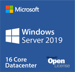 Microsoft Windows Server 2019 Datacenter 16 Cores Open License
