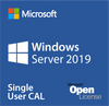 Microsoft Windows Server 2019 Single User CAL - Open License