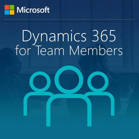 Microsoft Dynamics 365 for Team Members, Enterprise Edition - From SA for AX Task or Self-serve for Student