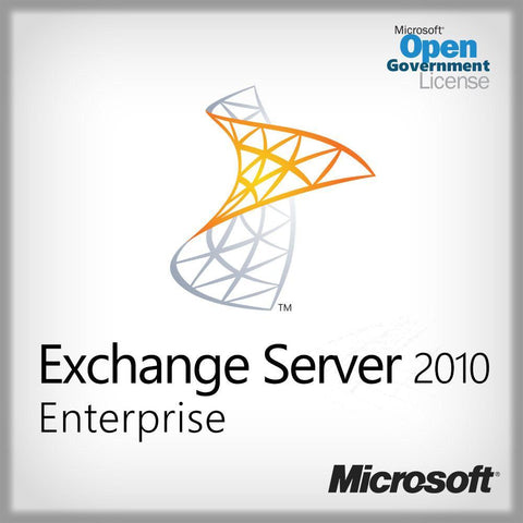 Microsoft Exchange Server 2010 Enterprise Open Gov License | Microsoft