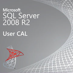 Microsoft SQL Server 2008 R2 - User CAL license