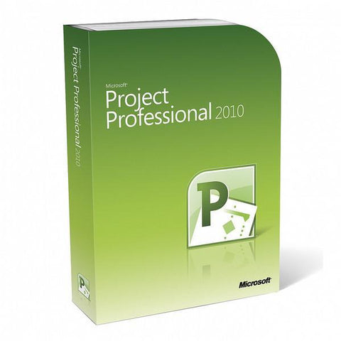 Microsoft Project Professional 2010 1 PC International License - TechSupplyShop.com