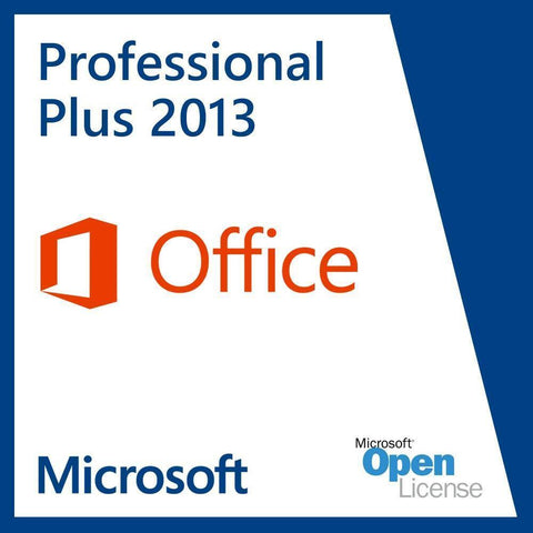 Microsoft Office Professional Plus 2013 Open Business License | Microsoft