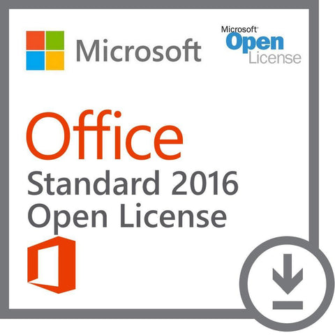 Microsoft Office Standard 2016 License