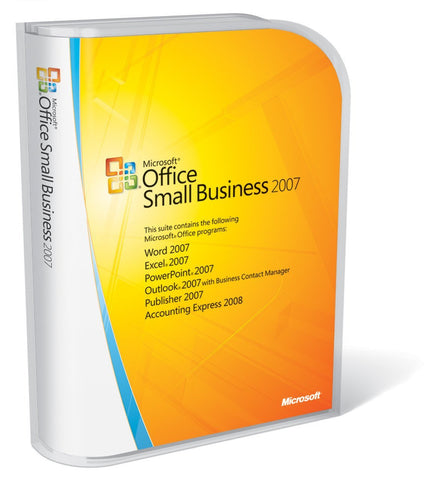 Microsoft Office 2007 Small Business Edition License - TechSupplyShop.com - 1