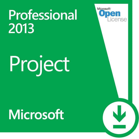 Microsoft Project Professional 2013 Open License - TechSupplyShop.com