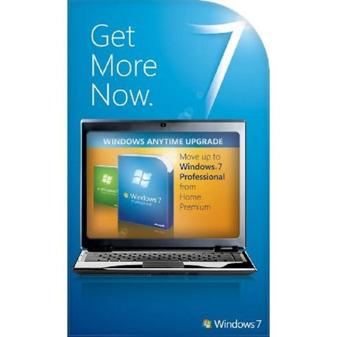 Microsoft Windows 7 Anytime Upgrade - Home Premium to Professional - TechSupplyShop.com