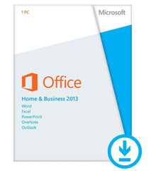 Microsoft Office Home and Business 2013 - PC - License - English - TechSupplyShop.com - 1