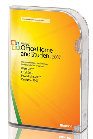 Microsoft Office Home and Student 2007 - 3 PC - License - TechSupplyShop.com - 1