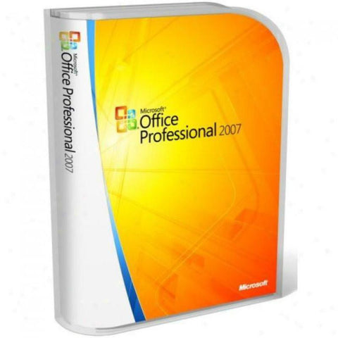Microsoft Office Professional 2007 - PC - Retail Box - TechSupplyShop.com - 1