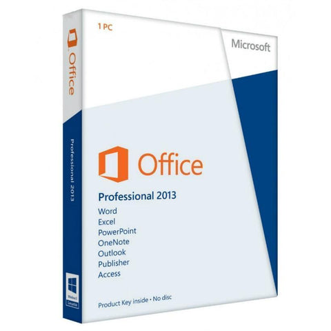 Microsoft Office Professional 2013, PC, License, English, - TechSupplyShop.com - 1