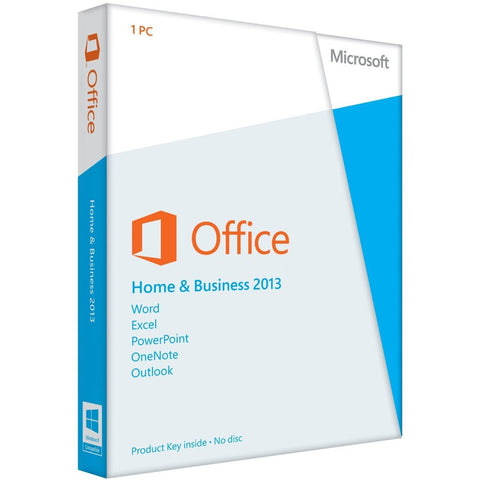 Microsoft Office Home and Business 2013 - Spanish - License - Download - 32/64 Bit - TechSupplyShop.com - 1