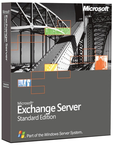 Microsoft Exchange Server 2003 Standard Edition 5 Cals - TechSupplyShop.com