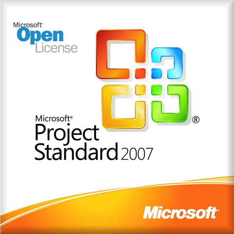 Microsoft Project 2007 Standard - Open License | Microsoft