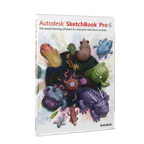 Autodesk SketchBook Pro 6 - TechSupplyShop.com