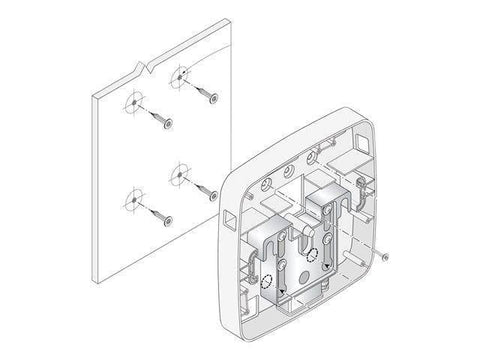 Aruba Networks, Inc. Model 220 Series Wall  Mount - White - TechSupplyShop.com