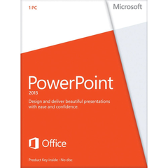 Microsoft Powerpoint 2013 - Media - Retail Box - TechSupplyShop.com