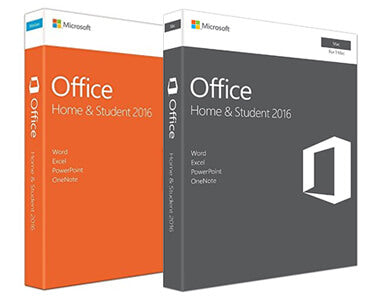 Microsoft Office Home and Student 2016 Retail Boxes