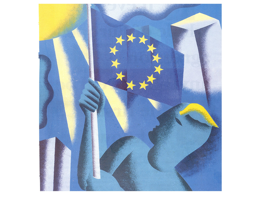 EU Flag Illustration Paul Leith