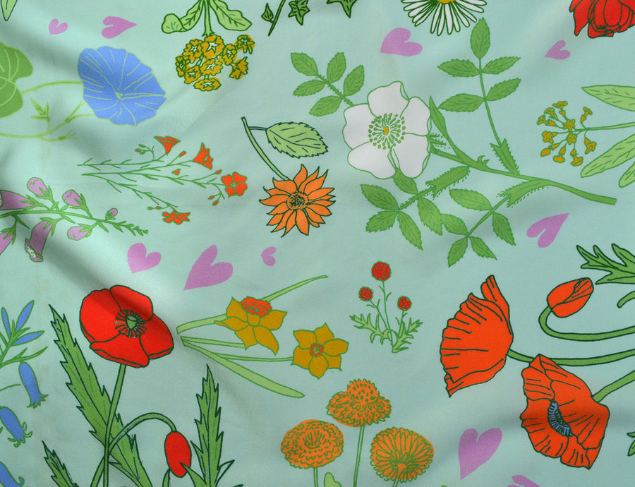 Textile design for Silk Scarves