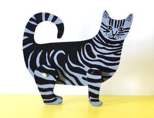 Wooden Cat Toy Design Paul Leith