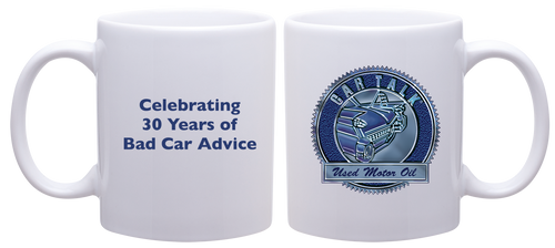 Car Talk Used Motor Oil Ceramic Mug