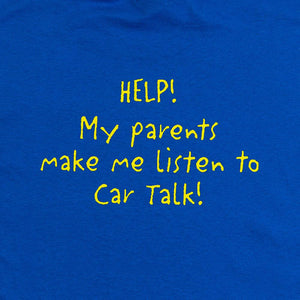Car Talk Kid's 'Help!' Tee