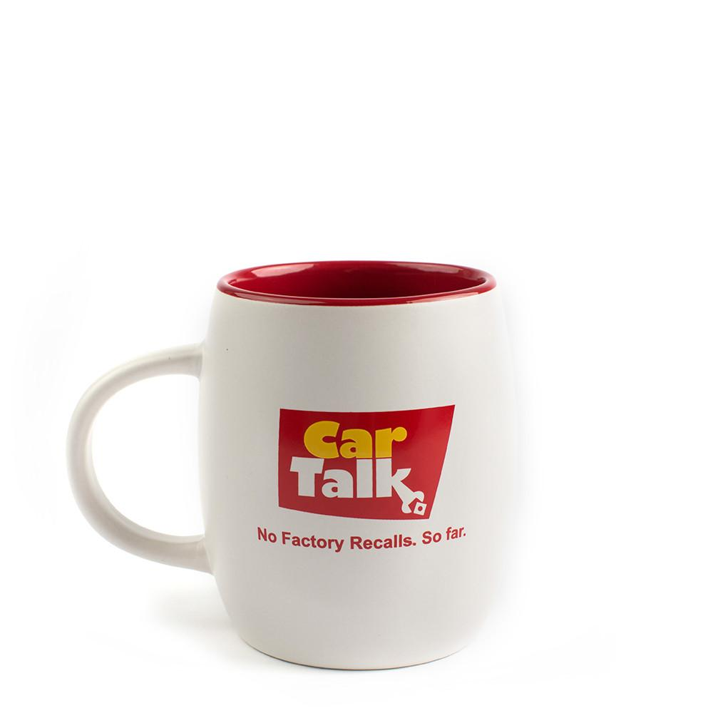 Car Talk No Factory Recalls...So Far Mug