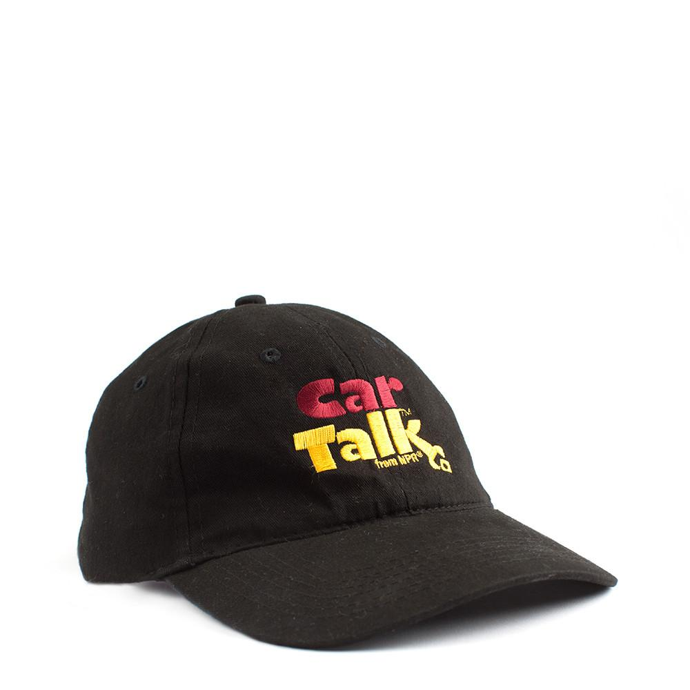 Car Talk Black Logo Cap