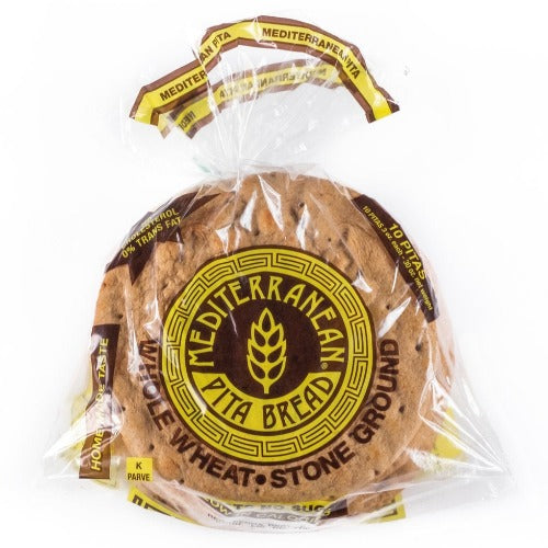 Mediterranean Pita Bread 10pcs (7in)- **NYC Delivery ONLY** - BalkanFresh