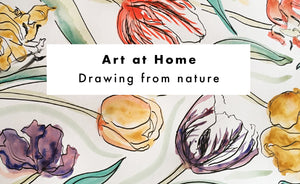 Art at Home: Drawing from Nature