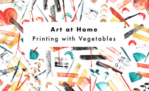 Art at Home: Printing with Vegetables
