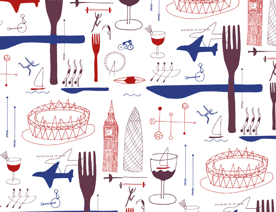 British Airways Design Consumer PR Lydia Leith illustration
