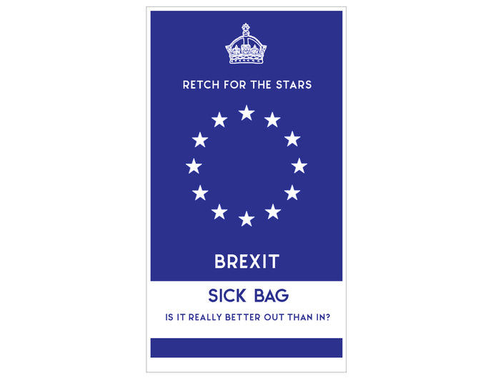 Brexit Sick Bag EU Lydia Leith