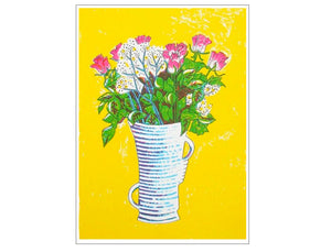 Bright Bouquet Large Art Print