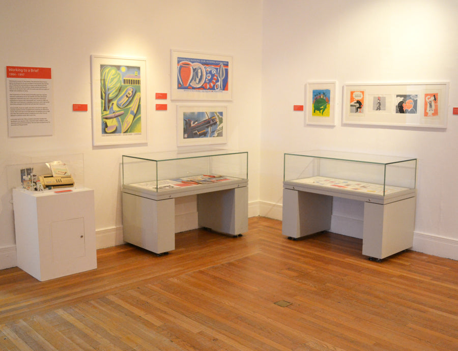 Exhibition Retrospective Artist Gallery Art