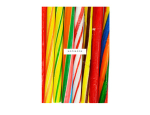 Seaside Stick of Rock Notebook