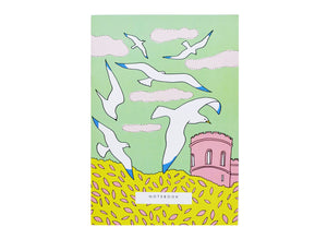 Seagull Birds Sky Notebook