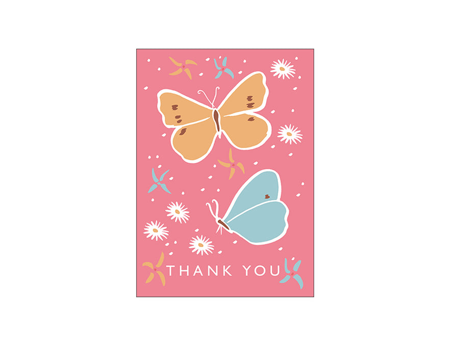 Thank You Greetings Card A6