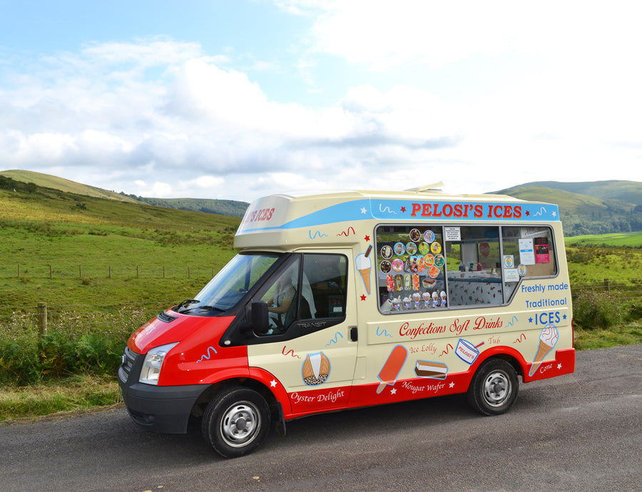 Ice Cream Van Design Branding