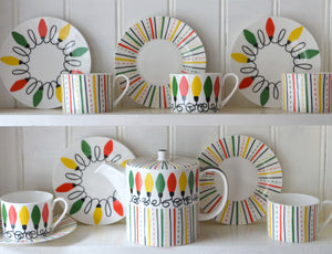 Buttercup China: Tea Set Design