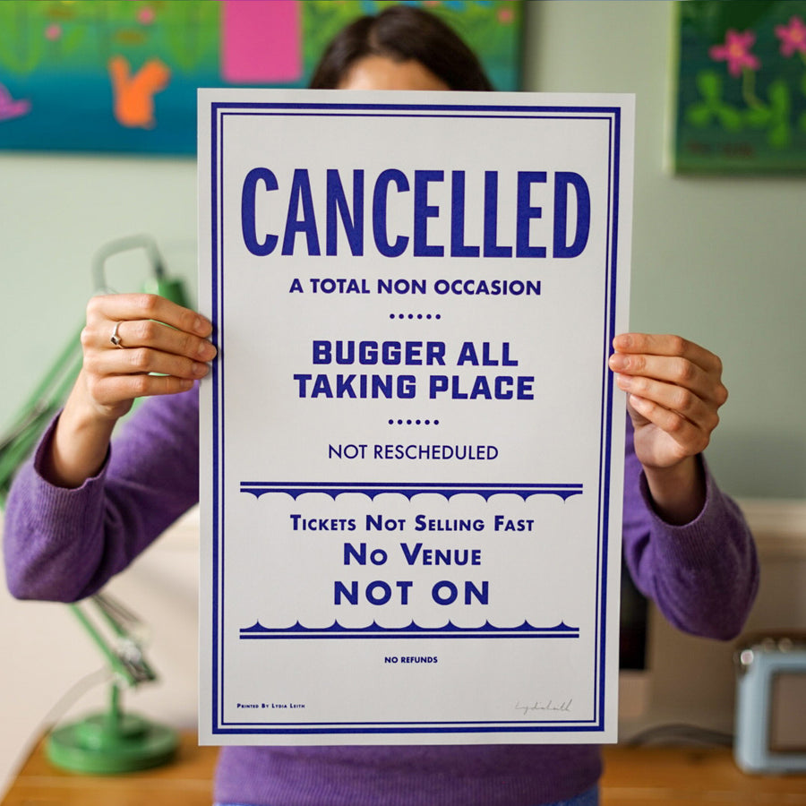 "Cancelled ""Non-Event"" Poster"