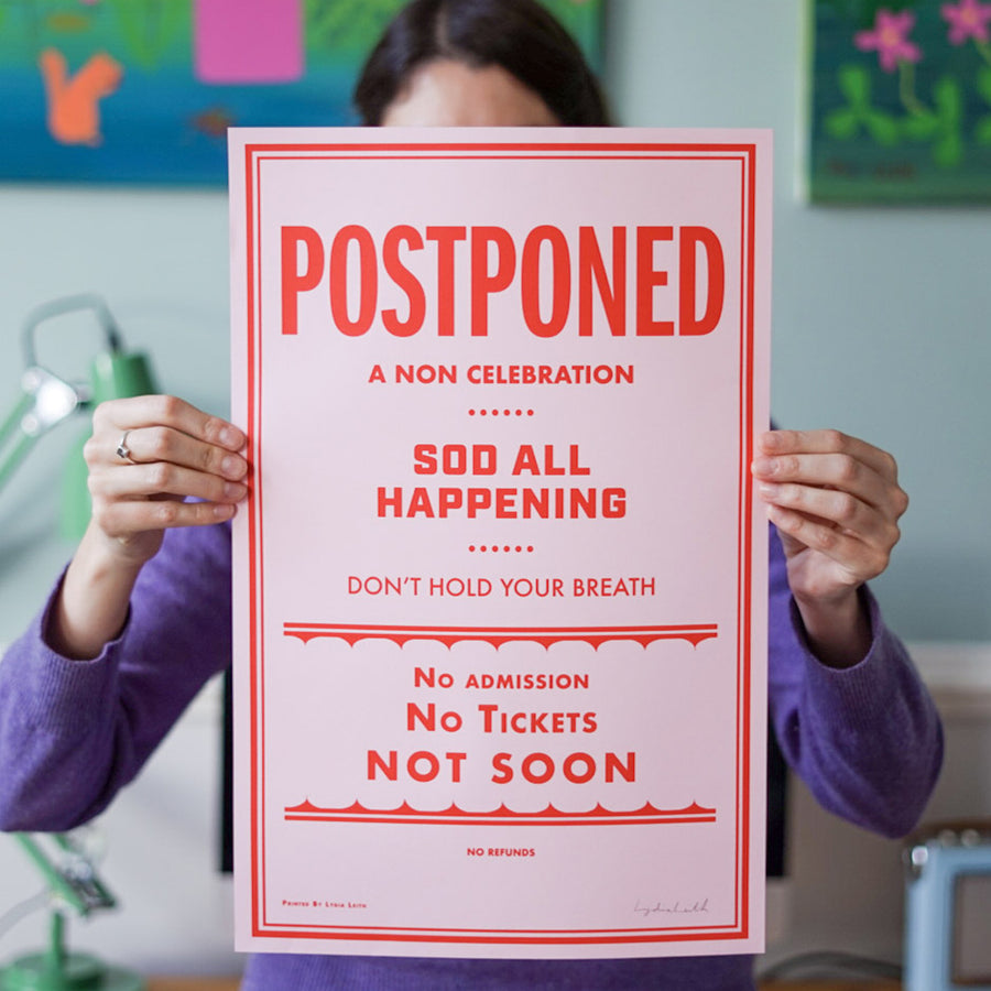 "Postponed ""Non-Event"" Poster"