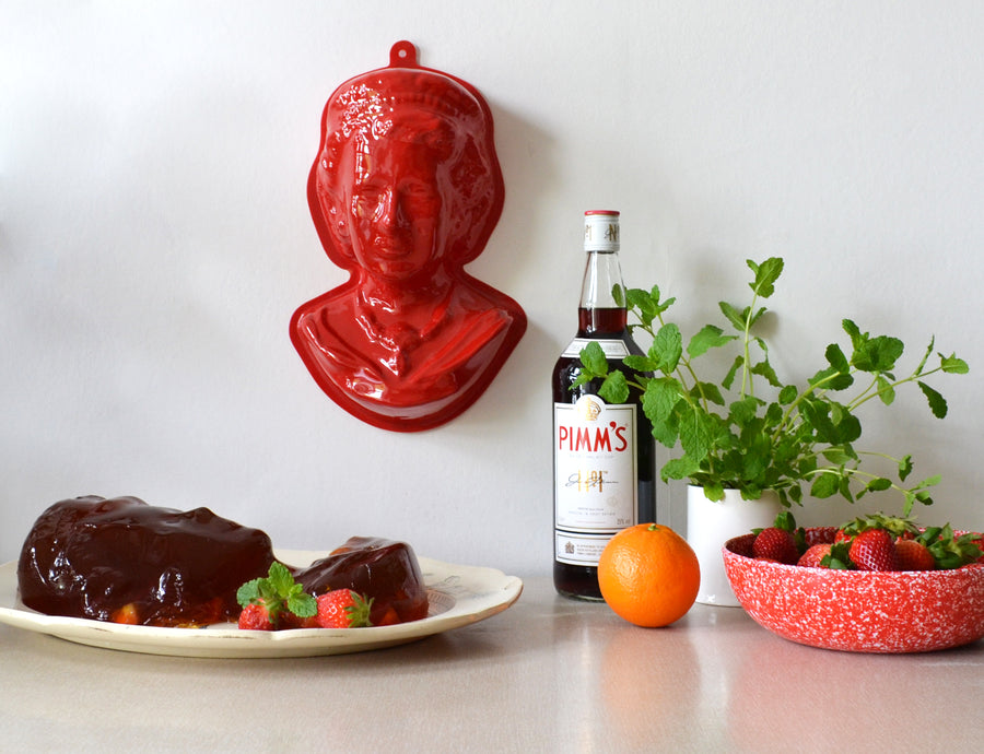 Pimm's Jelly Recipe Queen Mould