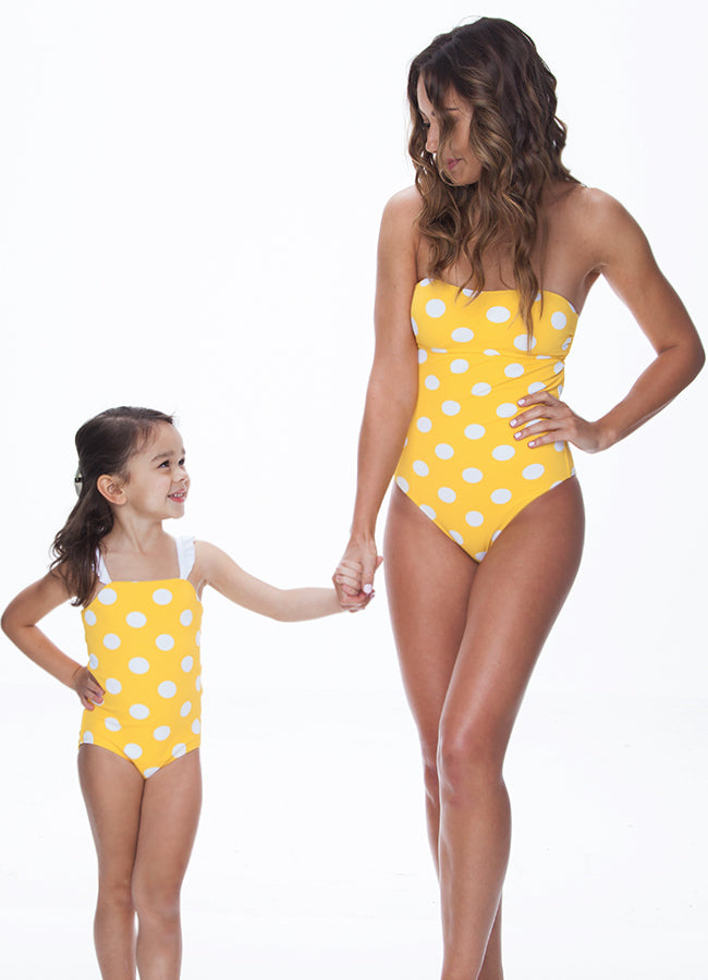POLKA DOT SAMOA ONE PIECE