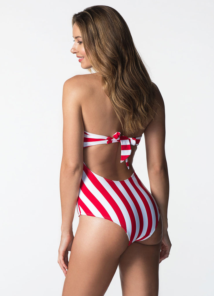 STRIPED SAMOA ONE PIECE