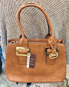 Brown Sorrentino Handbag